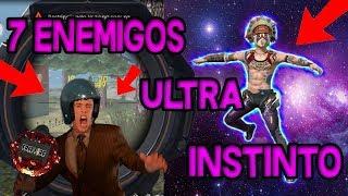 ACTIVO EL ULTRA INSTINTO Y PASA ESTO SOLO VS SQUAD OMG FREE FIRE REVISA MI CASO 2