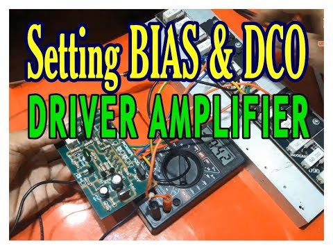 SETTING BIAS DAN DCO AMPLIFIER