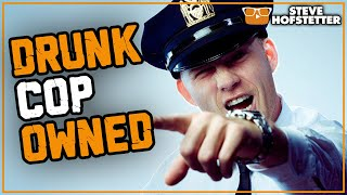 Heckler cop thinks he's special - Steve Hofstetter