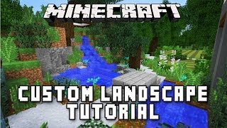 Minecraft Tutorial: Making A Zen Garden Design  (Modern Build House Ep.36)