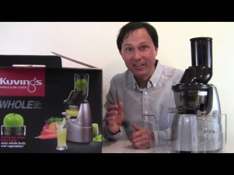 Kuvings Whole Slow Juicer Vs Omega : Kuvings Whole Slow Juicer with 3
