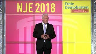 Video zu: Ehrengast Kubicki beim NJE 2018