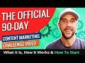 Day Content Marketing Challenge Video