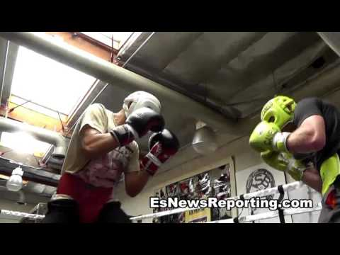 GGG After Sparring Canelo Says He Is A Very Strong Guy! Great Champion - esnews boxing (видео)