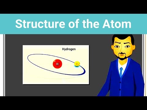 Structure of the Atom | Different Models of an Atom | Distribution of electrons
