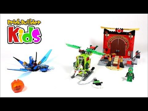 Vidéo LEGO Juniors 10725 : Le temple perdu