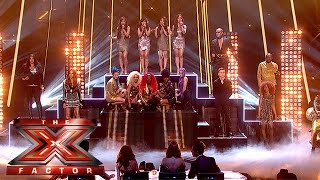 X Factor Finalists 2015 - Downtown Mash-Up