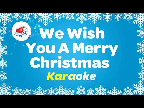 We Wish You a Merry Christmas Karaoke Instrumental