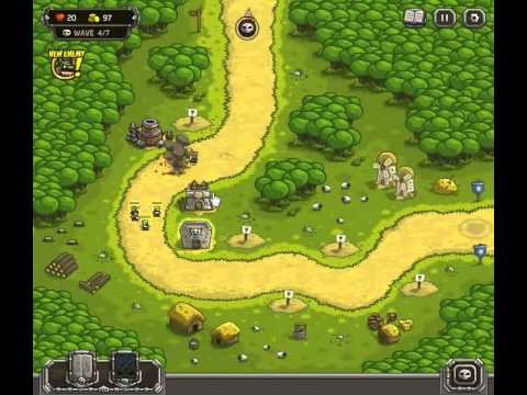 Kingdom Rush Walkthrough Level 1
