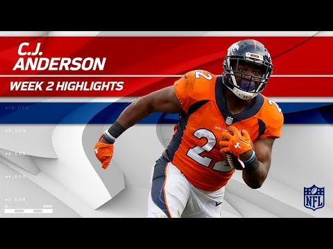 Video: C.J. Anderson Powers Through the Dallas Defense! | Cowboys vs. Broncos | NFL Wk 2 Player Highlights