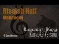 Download Lagu Mahadewi - Risalah Hati (Lower Key  -2 Semitones) Karaoke Version | Ayjeeme Karaoke Mp3 Free