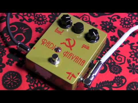 Heavy Electronics RADIO HAVANA lo-fi fuzz overdrive guitar effects pedal demo