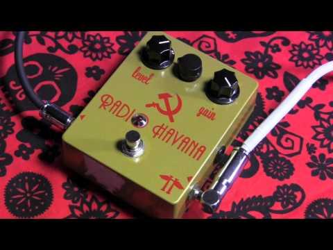Heavy Electronics RADIO HAVANA lo-fi fuzz overdrive guitar effects pedal demo