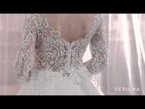 Свадебное платье 2016 года от VESILNA™ модель 3079