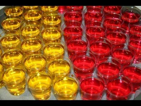 Como hacer un Jelly Shot o Shot de Gelatina