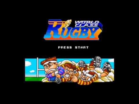WORLD CLASS RUGBY SUPER NINTENDO