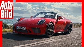 Porsche 911 Speedster (2019): 991 - Test - Infos - Preis - Motor - Cabrio by Auto Bild