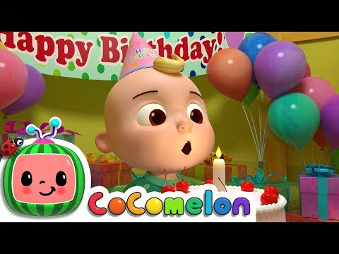Happy Birthday Song | Nursery Rhymes & Kids Songs - ABCkidTV