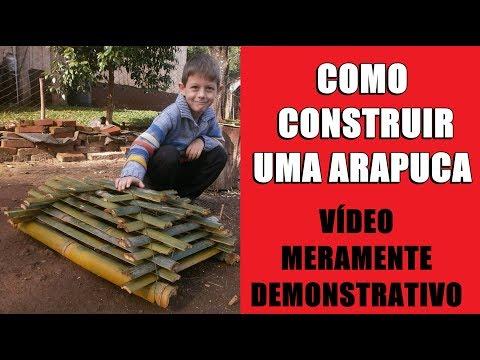 Como construir uma Arapuca