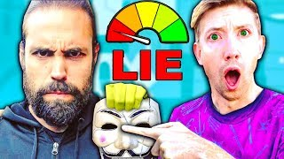 CHAD WILD CLAY DOES LIE DETECTOR TEST TO JUSTIN / PZ9?! 💀 Project Zorgo News w VY QWAINT,CWC,DANIEL