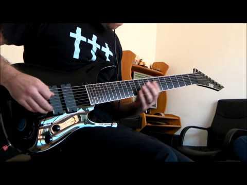 ESP Stef B8 - Deftones - Prince. 8 String Guitar Cover