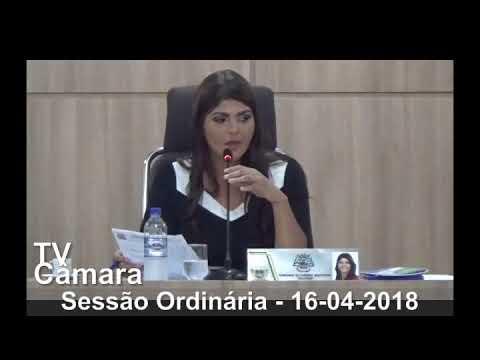 Sessão Ordinária 16/04/2018