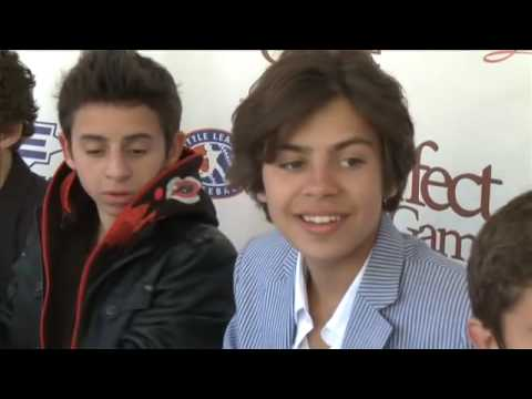 Jake T Austin, Moises Arias & More: The Perfect Game Premiere