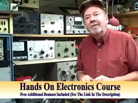 Electronics Course – Basic Electronics Tutorial & Fun Electronic Projects – How to Learn Electronics