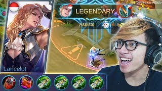 Video NEW BUILD LANCELOT BLADE OF DESPAIR EASY LEGENDARY - MOBILE LEGENDS INDONESIA MP3, 3GP, MP4, WEBM, AVI, FLV Oktober 2017