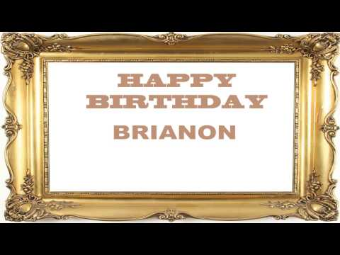 Brianon   Birthday Postcards & Postales
