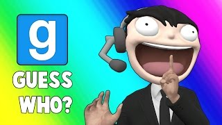 Gmod Guess Who Funny Moments - Alleyway Police! (Garry