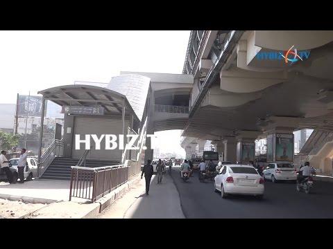 Miyapur to SR Nagar Metro Station Inspection