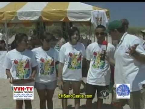 East Hampton Sandcastle Contest 2009 Part 1
