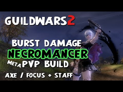guild wars 2 necromancer - Here's a power necro build I've been using for awhile and is in the current pvp meta. If you like builds with huge damage output, tons of condi cleanse and a...