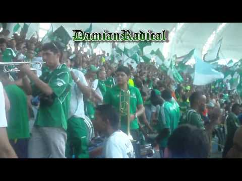 (HD) Previo a La Final Deportivo cali vs a/nal 11/12/13 - Frente Radical Verdiblanco - Deportivo Cali