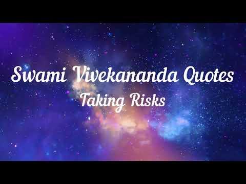 Happiness quotes - Swami Vivekananda Quotes Taking Risks
