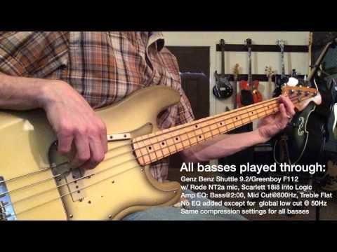 P Bass Mashup! Motown Showdown - Full Mix