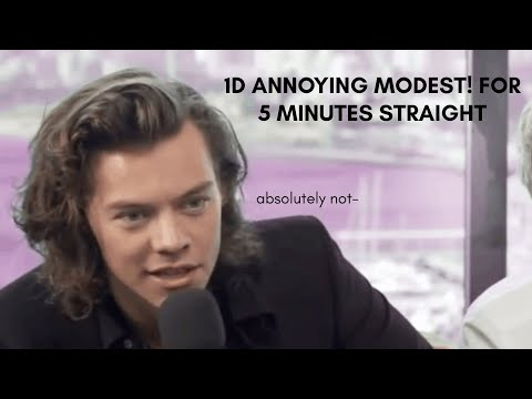 1D annoying management for 5 minutes straight