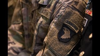 101st Airborne soldiers leave their mark on historic unit