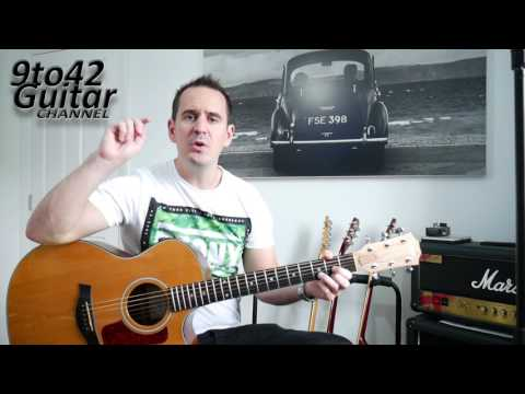FIRST SONG To Learn On The Guitar KUNG FU FIGHTING Chords EASY Lesson