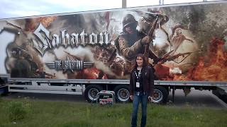 Hanging in Tuska Open Air Metal Festival 2017 Helsinki, amorphis,suicidal tendencies