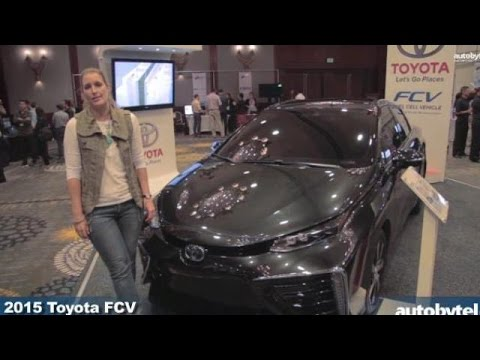 2015 Toyota FCV Hydrogen Fuel Cell Vehicle at the LA Entertainment Summit