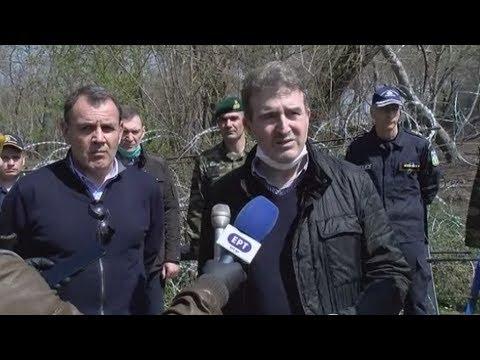 «Οι ένοπλες δυνάμεις, η αστυνομία και η Frontex φυλάνε τα σύνορα της Ελλάδας και της Ευρώπης»