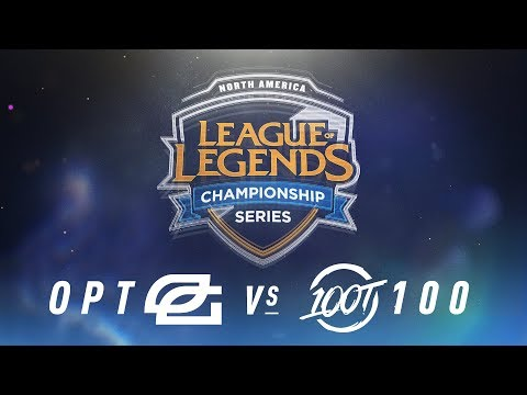 OPT vs. 100 - Week 8 Day 2 | NA LCS Spring Split | OpTic Gaming vs. 100 Thieves(2018)