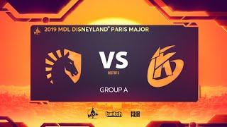 Team Liquid vs Keen Gaming, MDL Disneyland® Paris Major, bo3, game 1 [Jam & Inmate]