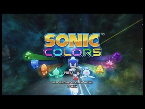 Let's Play Sonic Colors! (Part 1)