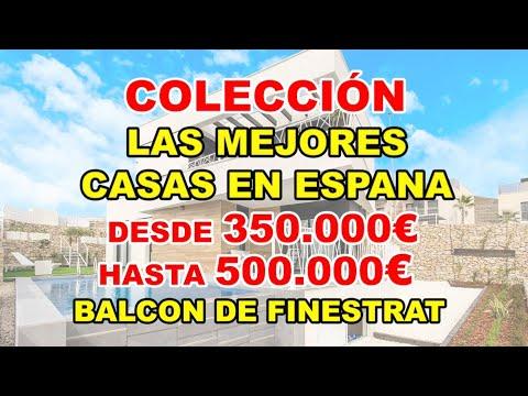 350-500000€/Balcón de Finestrat/Video de MEJORES VILLAS en España/Casas en construcción/Casas Finestrat