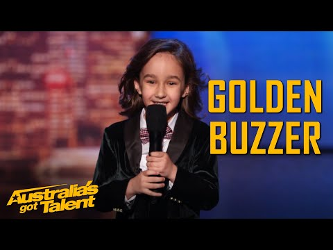 JJ's HILARIOUS Golden Buzzer Moment | Auditions | Australia's Got Talent 2019