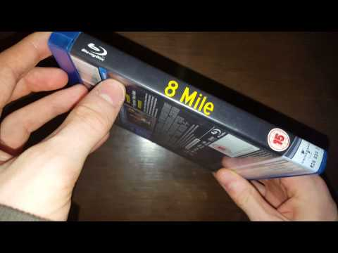 8 mile Bluray Unboxing