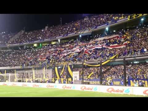 La 12 y los trapos de riBer! Despedida Battaglia 2 - La 12 - Boca Juniors